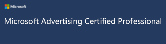 Image result for microsoft advertising certified professional badge