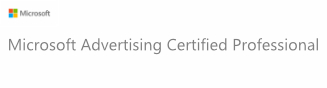 Profissional Certificado Microsoft Advertising (Bing Ads)